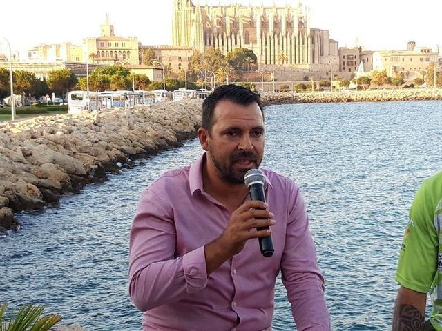 El director deportivo, José Tirado (Foto: Palma Futsal)