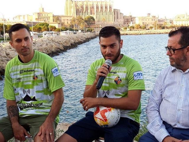 Dos años después, Taffy regresa a la isla (Foto: Palma Futsal)