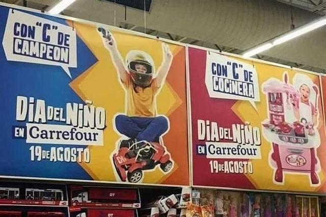 El polémico anuncio (Foto: Twitter)
