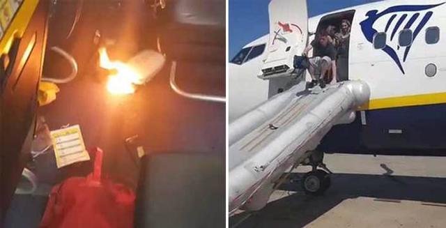Los pasajeros se llevaron un buen susto (Twitter)