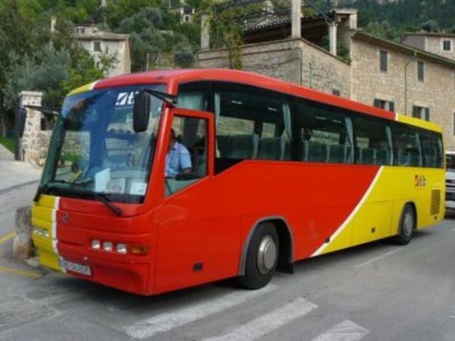 Autobuses del Consorcio de Transporte Interurbano (TIB) en los que las víctimas de violencia de género van a beneficiarse del descuento (Foto: Archivo)