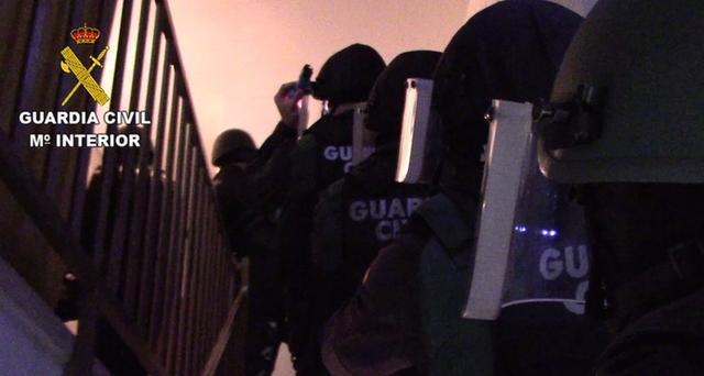 En total, han sido incautados 17'5 kilos de cocaína (Foto: Guardia Civil)