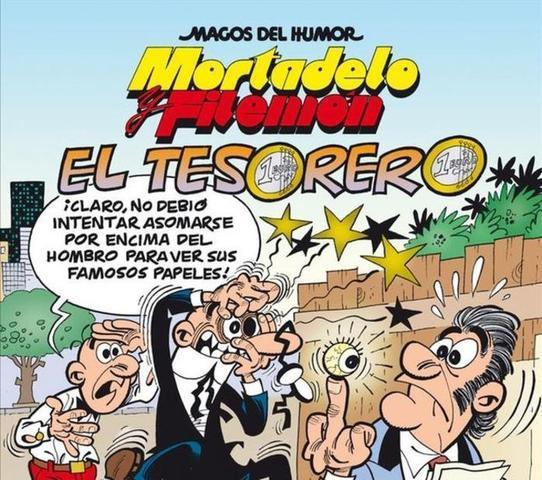 """Portada de """"Mortadelo y Filemón: el Tesorero"""""""