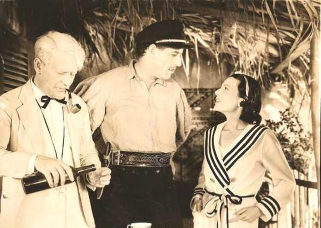 Bonanova con Lupita Tovar en `El Capitán Tormenta´(1936)