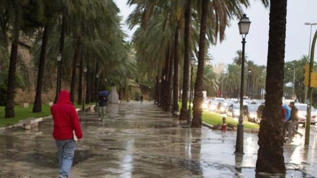 Las lluvias despejarán el ambiente casi tropical en Mallorca (Archivo)
