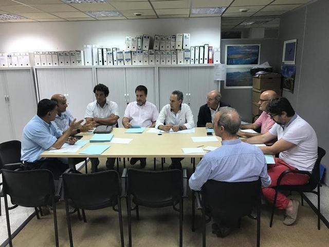 Imagen de la reunión mantenido durante esta mañana (Foto: CAIB)