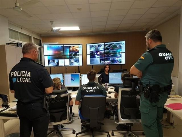 Policía Local de Calvià y Guardia Civil colaboran conjuntamente en el municipio