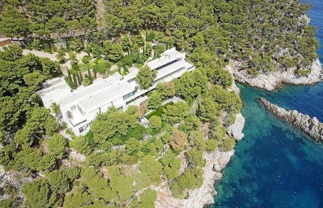 Vista aérea de la polémica construcción