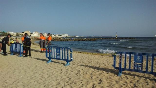 Ciutat Jardí, otra vez cerrada al baño por un vertido de aguas residuales (Foto: Europa Press)