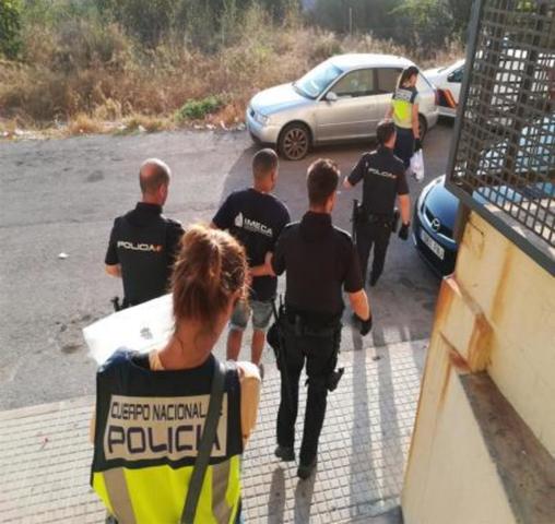 El momento de la detención (Foto: CNP)