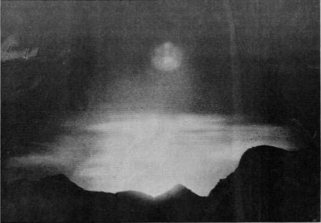 La famosa fotografía realizada por Pep Climent desde Sóller
