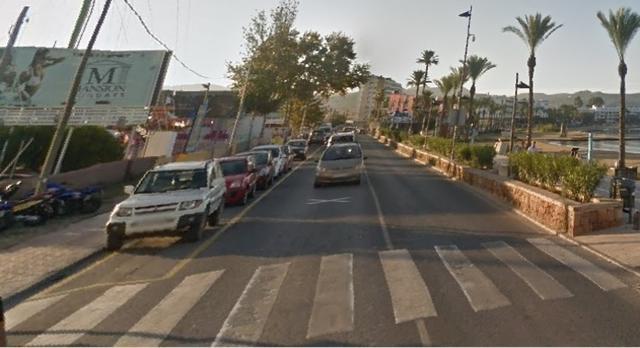 El altercado tuvo lugar en la Avenida Doctor Fleming de Sant Antoni de Pormany, en Ibiza