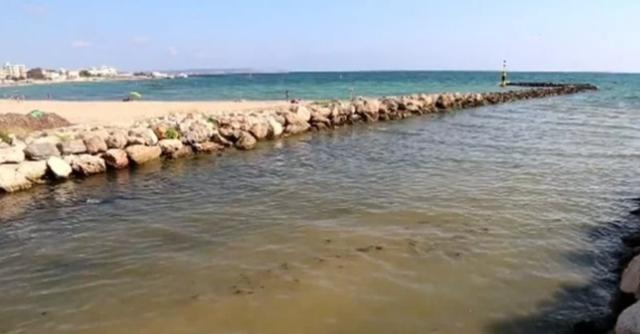 De nuevo cerradas las playas de Can Pere Antoni y Ciutat Jardí por vertido de residuos fecales y residuales por las lluvias caídas