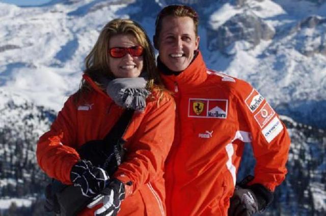 El matrimonio Schumacher