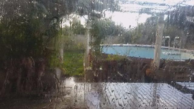 Las tormentas pueden ir acompañadas de granizo (Foto: Archivo)