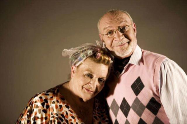 Marisa Porcel, Pepa, con su marido Avelino en la ficción, el actor Pepe Ruiz, en 'Escenas de matrimonio'