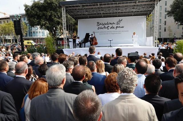 El acto ha sido presentado en catalán por Gemma Nierga (Foto: Twitter Casa Real)
