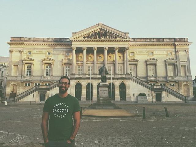 El rapero se trasladó a Bélgica