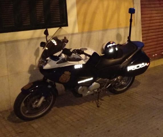 En el operativo participó la unidad de Motos-Rayos (Foto: CNP)