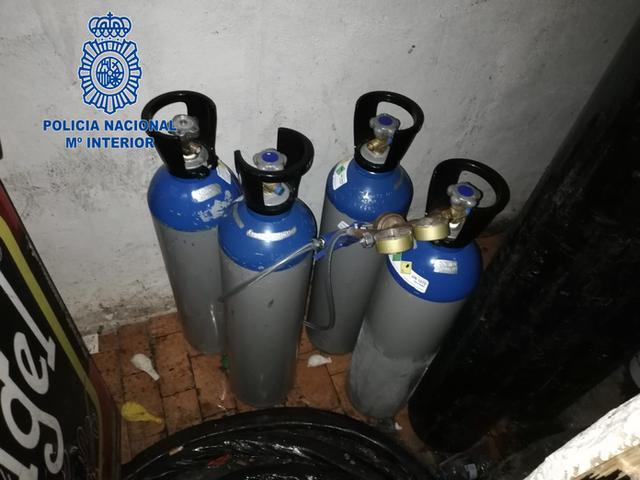 """Oxido nitroso, también conocido por """"gas de la risa"""" (Foto: CNP)"""