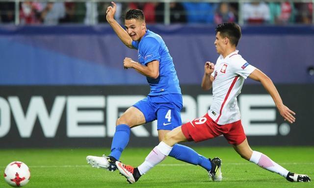Valjent debutó con la selección absoluta de su país el pasado 4 de junio