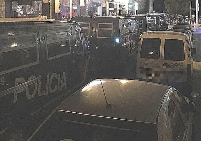 El dispositivo estuvo dirigido por la Brigada Provincial de Seguridad Ciudadana (Foto: CNP)