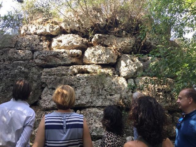 El poblado presenta un doble interés a nivel arqueológico (Foto: Consell de Mallorca)