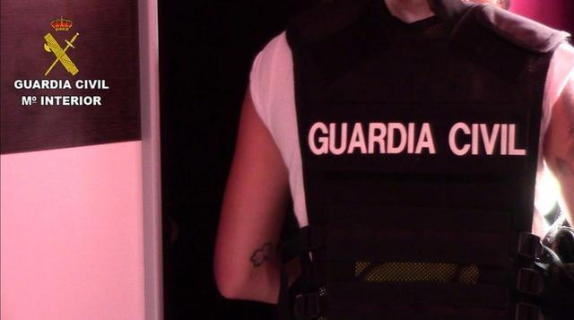 El equipo ROCA de la Guardia Civil ha detenido a seis hombres de nacionalidad española como presuntos autores (Foto: Guardia Civil)