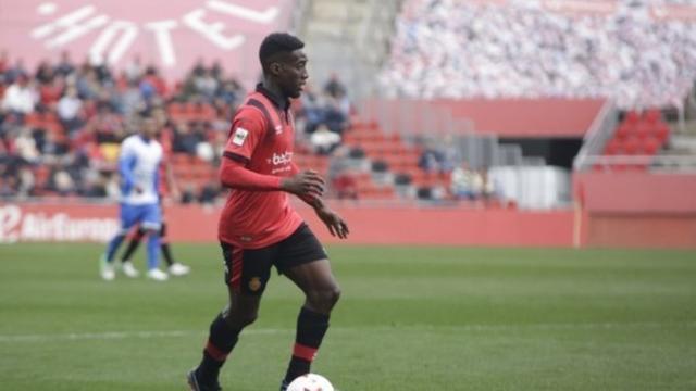 El internacional absoluto por Guinea Ecuatorial se marcha cedido sin haber estrenado su cuenta goleadora (Foto: RCDM)