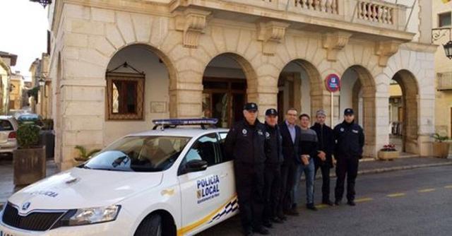 La Policía Local de Muro se ha hecho cargo de la investigación (Archivo)