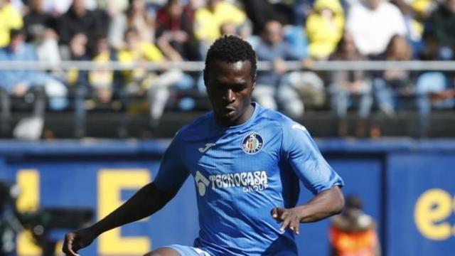Ndockyt jugó la temporada pasada 6 partidos en Primera división con el Getafe