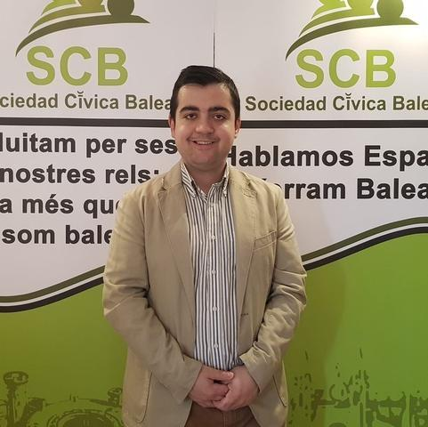 El presidente de Sociedad Cívica Baleares (SCB), Cosme Bernat Brull (Foto: Archivo)