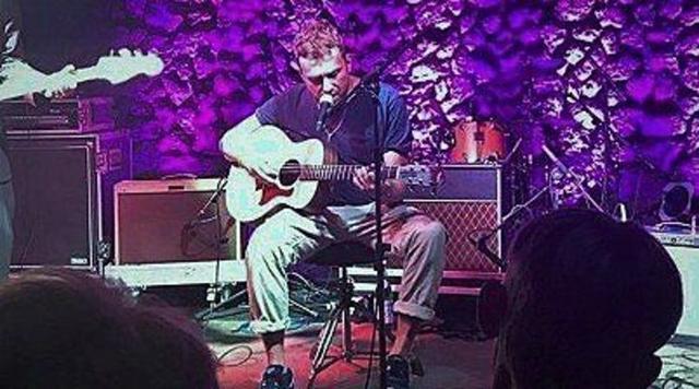 Damon Albarn, en plena actuación