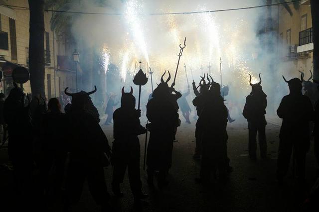 Los dimonis son los protagonistas del Correfoc (Foto: Ajuntament de Santa Margalida. Facebook/ Archivo)