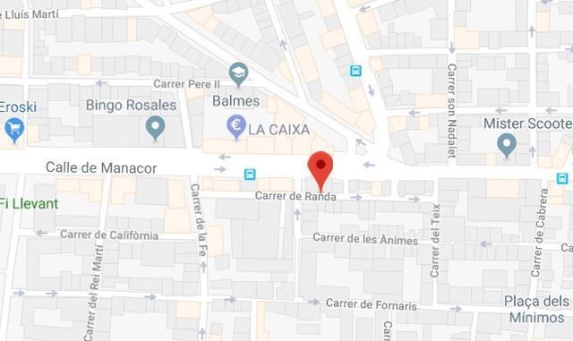 Las calles Randa y Teix, donde los agentes han realizado 9 registros