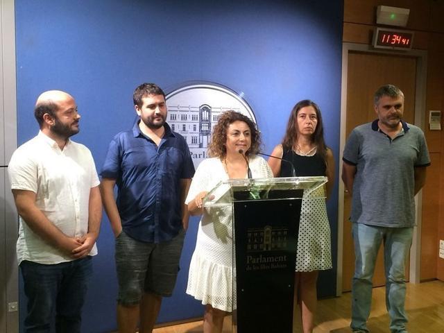 Joana Aina Campomar, diputada de Més, ha resaltado el incremento de estas fiestas en los últimos años
