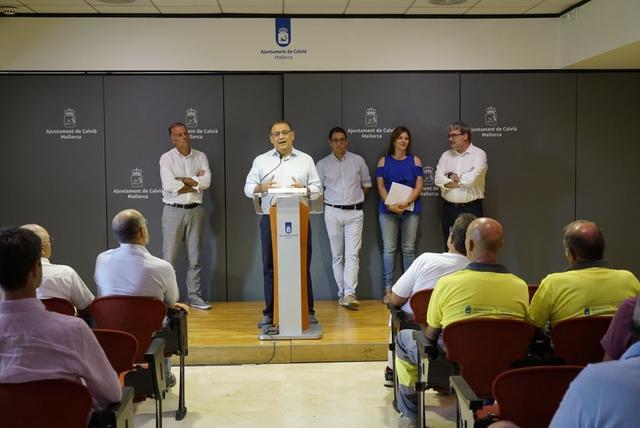 Alfonso Rodríguez, alcalde de Calvià, en la presentación SOIB Visibles