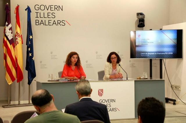 La portavoz del Govern, Pilar Costa, ha anunciado la medida este viernes (Foto: Govern de les Illes Balears)