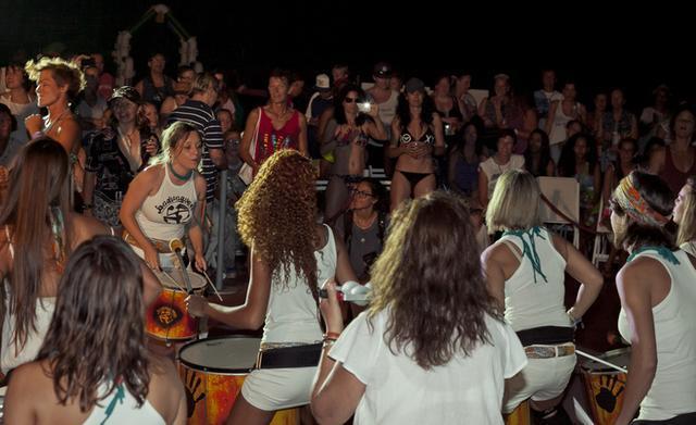 Las batucadas, siempre presentes (Foto: ELLA Festival)