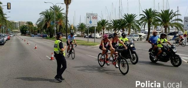 El evento comenzará a las 08.30 y finalizará a la 13 horas (Foto: Policia Local Palma)