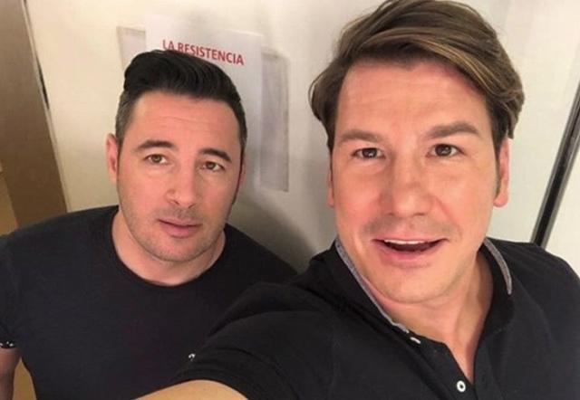 Andy y Lucas (Foto: Instagram)