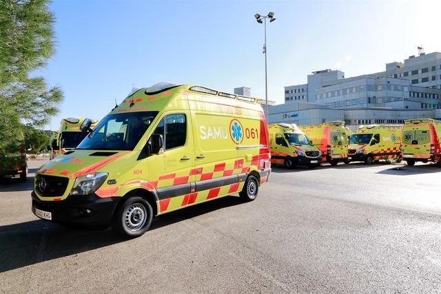 Cuatro ambulancias del SAMU acudieron al siniestro (Foto: Archivo)