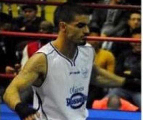 El presunto agresor cuando boxeaba en la categoría amateur y de la que fue campeón en Baleares en 203