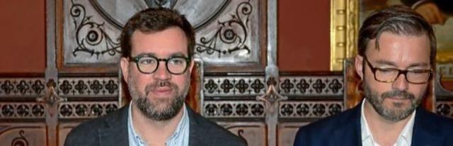 El alcalde de Palma, El soberanista Antoni Noguera, y el actual concejal de Urbanismo, el socialista José Hila