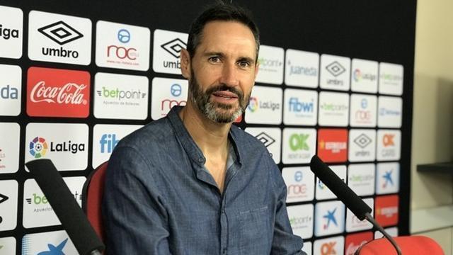 Vicente Moreno, técnico de los barralets (Foto: RCDM)