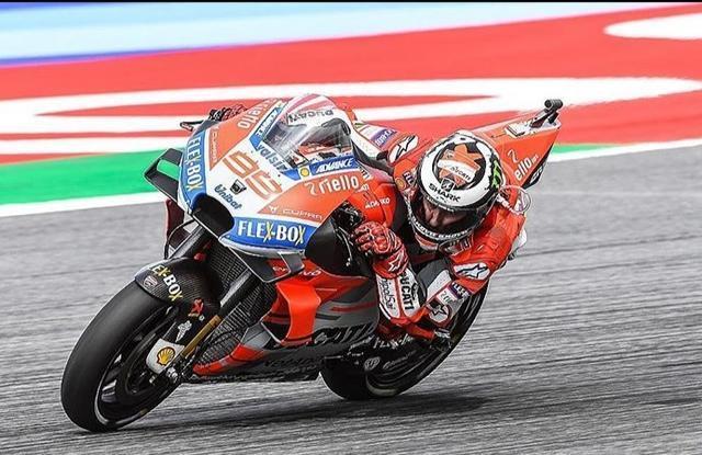 Jorge Lorenzo en plena faena volando hacia el triunfo (Foto: Instagram)