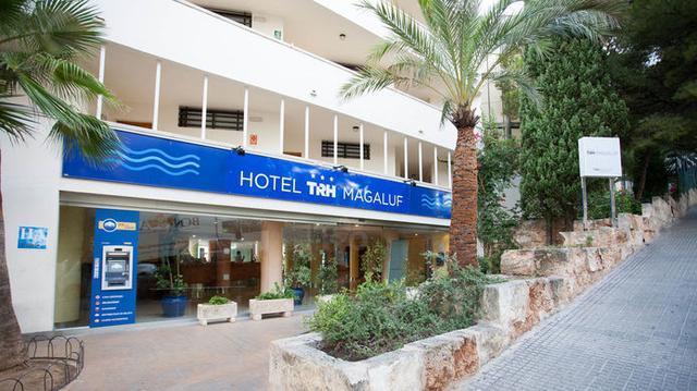 Hotel de Magaluf en el que se han producido los desgraciados incidentes, protagonizados por turistas británicos
