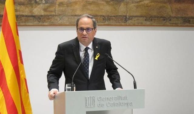 El presidente de la Generalitat, Quim Torra (Foto: Europa Press)