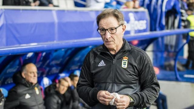 Juan Antonio Anquela, entrenador del Real Oviedo