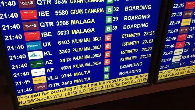 Tres vuelos procedentes de Reino Unido con destino Menorca han sido desviados a Palma (Foto: Europa Press)